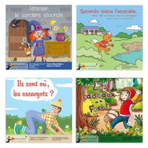 Histoires-jeux (lot de 4)