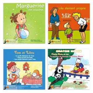 Histoires pour les petits lot A (lot de 4)