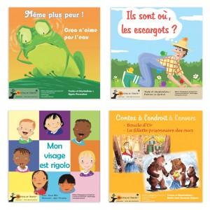 Contes pour les 4/5 ans (Lot de 4 contes)