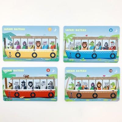 Safari bateau - 12 cartes supplémentaires