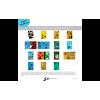 LE BONHOMME AUX GRANDS PIEDS - Planche de présentation